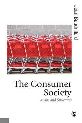 The Consumer Society by Jean Baudrillard image