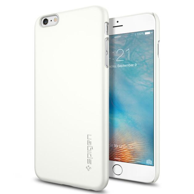 Spigen: iPhone 6 Plus - Thin Fit Case (White)