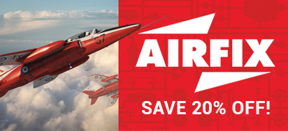 Save 20% off Airfix