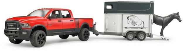 Bruder: RAM Power Wagon - with Horse Float