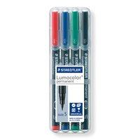 Staedtler: Lumocolor Permanent Superfine Tip Pens (Set of 4)