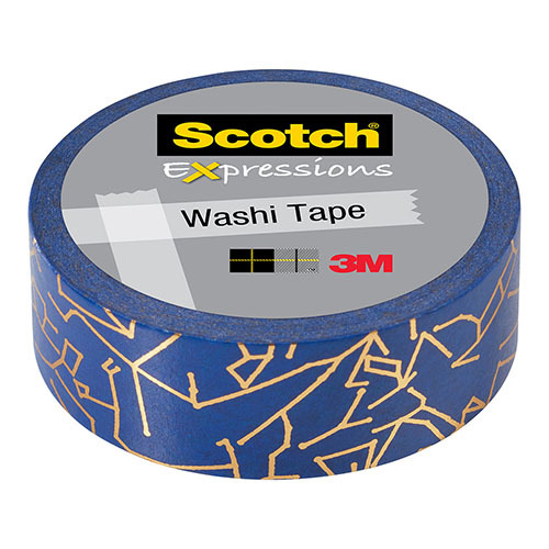 Scotch Expressions: Foil Washi Tape - Constellation (15mm x 7m)