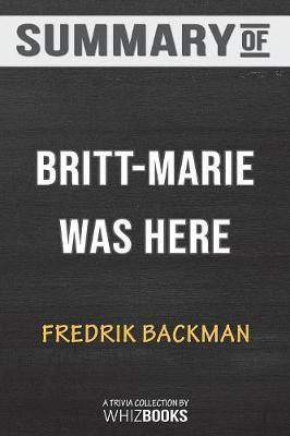 Summary of Britt-Marie Was Here by Whizbooks