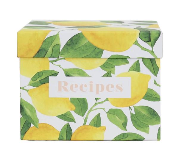 Splosh: Capri Kitchen Recipe Box