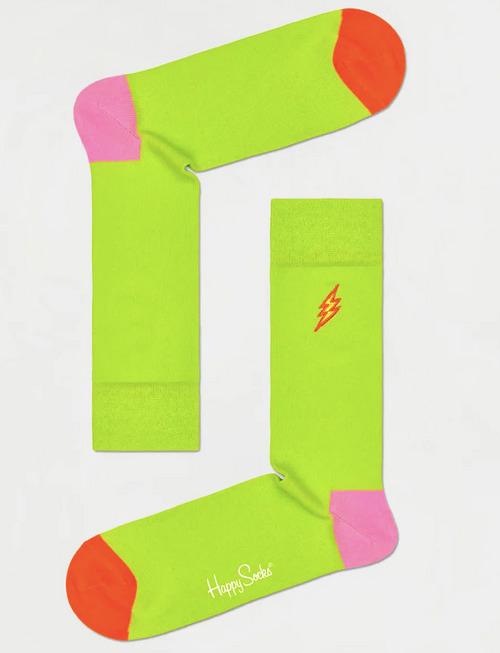 Happy Socks: Embroidery Flash Sock 36-40