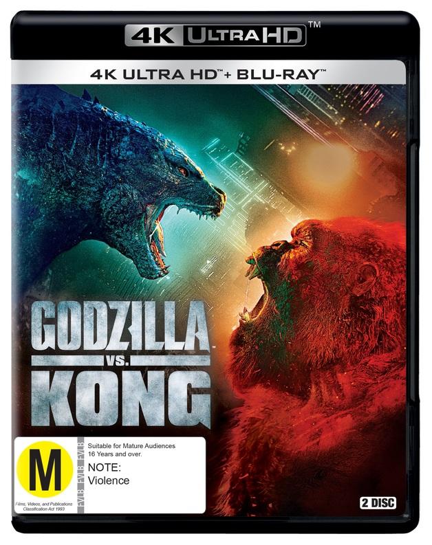 Godzilla vs. Kong (4K UHD + Blu-Ray) on UHD Blu-ray