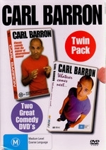 Carl Barron - Twin Pack (Live / Whatever Comes Next) (2 Disc Box Set) on DVD