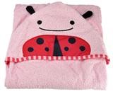 Skip Hop: Zoo Hooded Towel - Ladybug