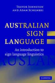 Australian Sign Language (Auslan) by Trevor Johnston image