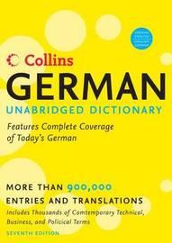 Collins German Unabridged Dictionary image