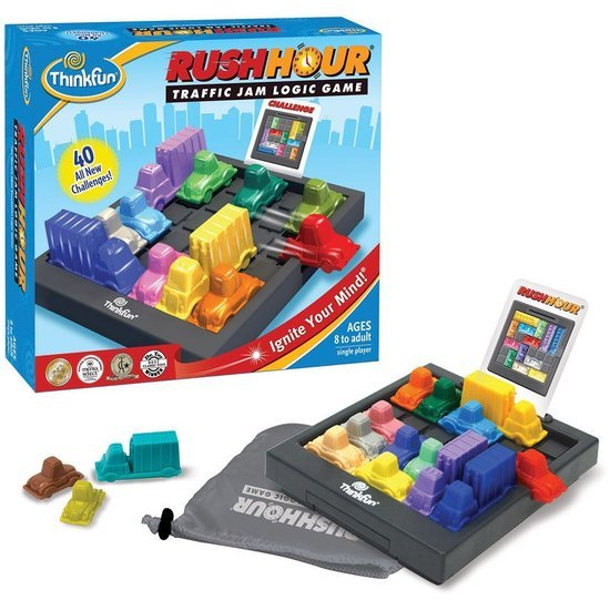 Thinkfun - Rush Hour with Anniversary Bundle image