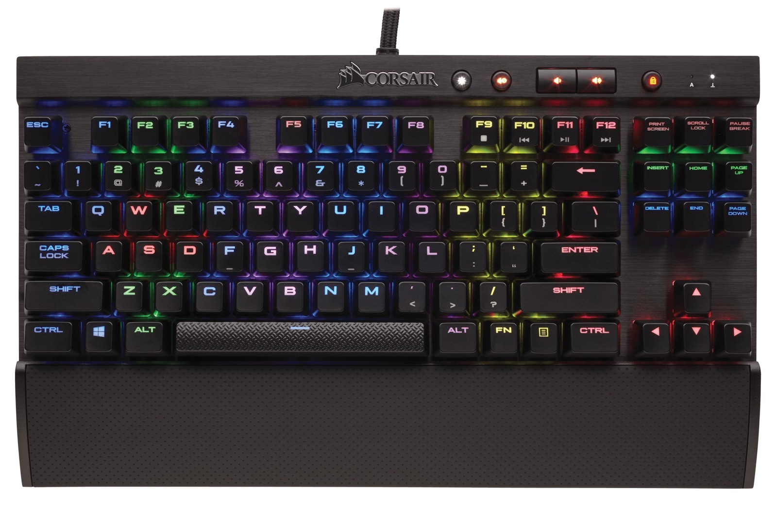 Corsair K65 RGB Rapidfire Mechanical Gaming Keyboard for PC Games image