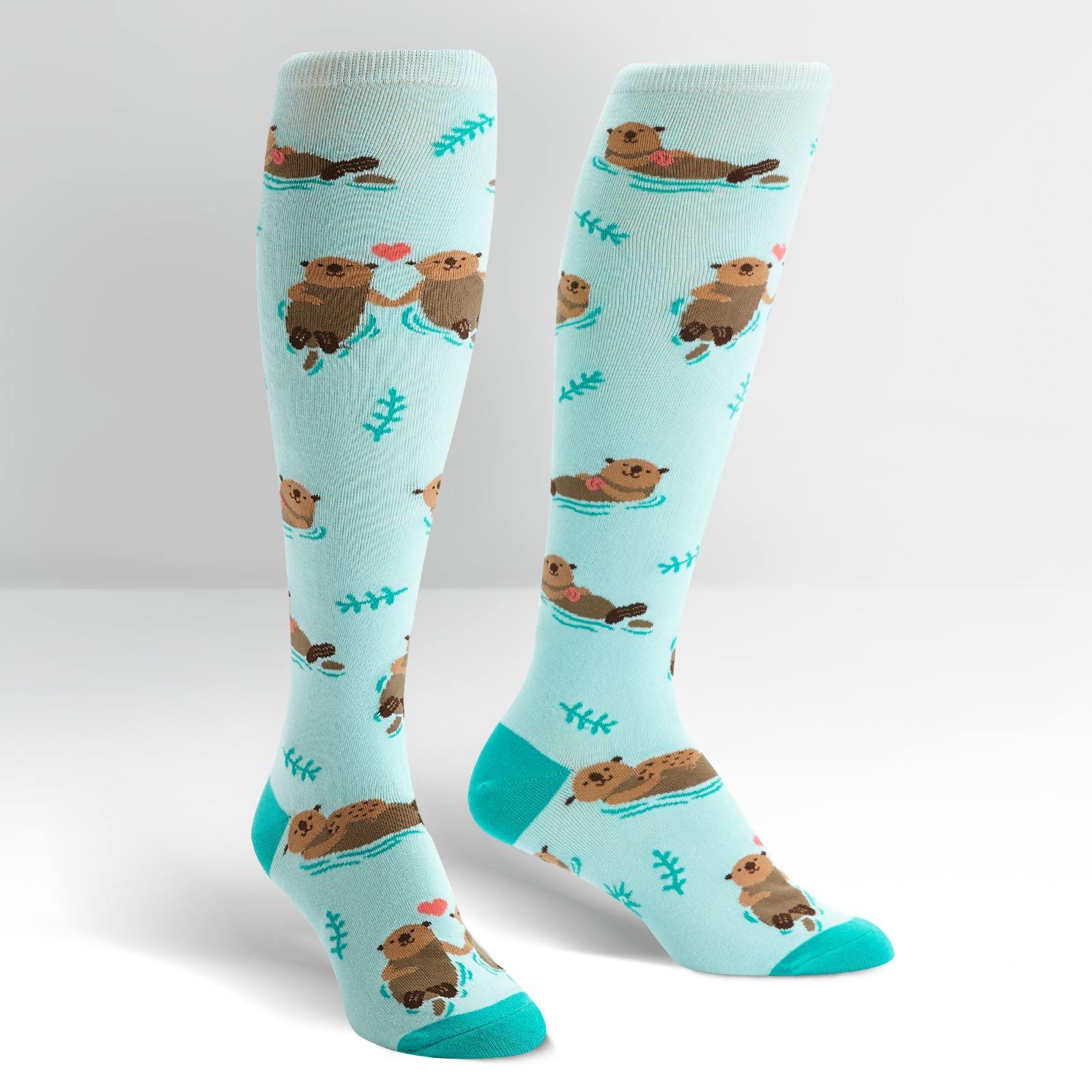 Women's - My Otter Half Knee High Socks image