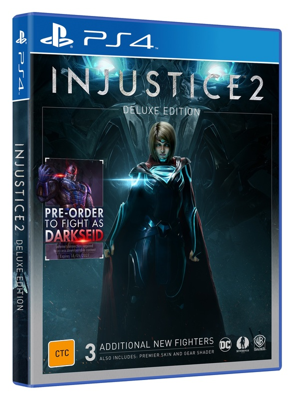 Injustice 2 Deluxe Edition for PS4