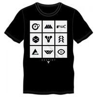 Destiny: Logo Square - Men's T-Shirt (Medium)