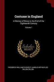 Costume in England by Frederick William Fairholt image