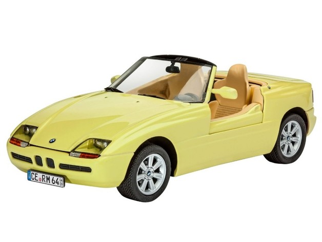 Revell 1/24 Bmw Z1 (1989) Scale Model Kit