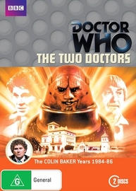 Doctor Who: The Two Doctors on DVD