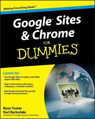 Google Sites and Chrome For Dummies image