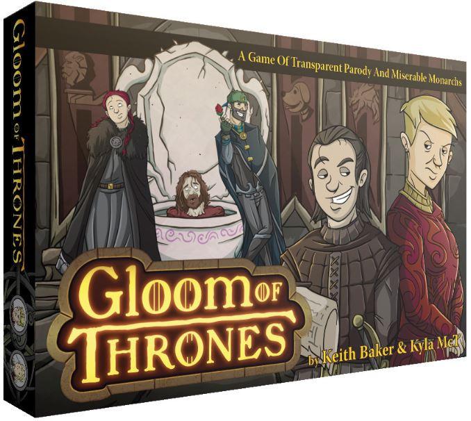 Gloom of Thrones - Story Telling Game image