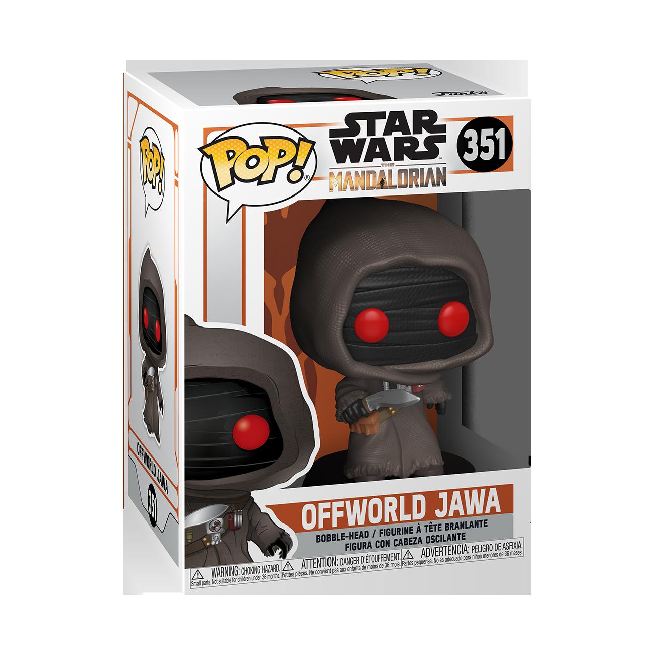 Star Wars: The Mandalorian - Offworld Jawa Pop! Vinyl Figure image