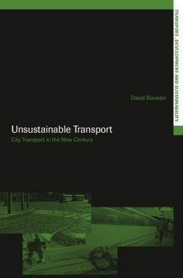 Unsustainable Transport by David Banister image