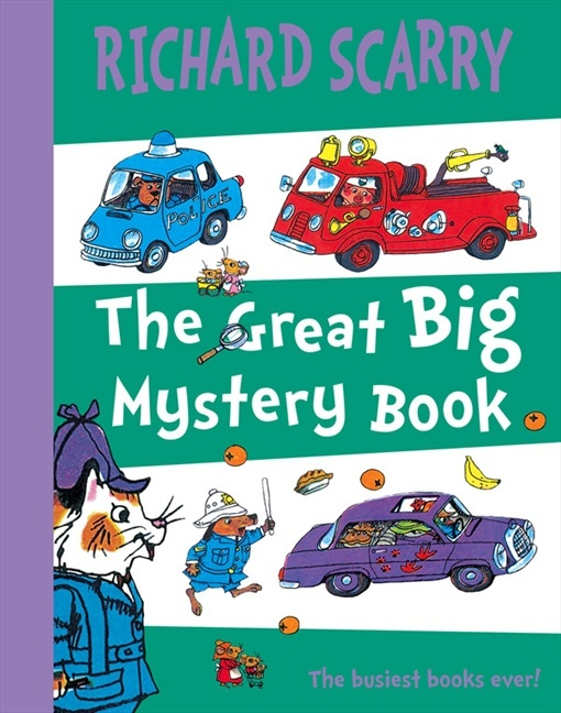 The Great Big Mystery Book by Richard Scarry
