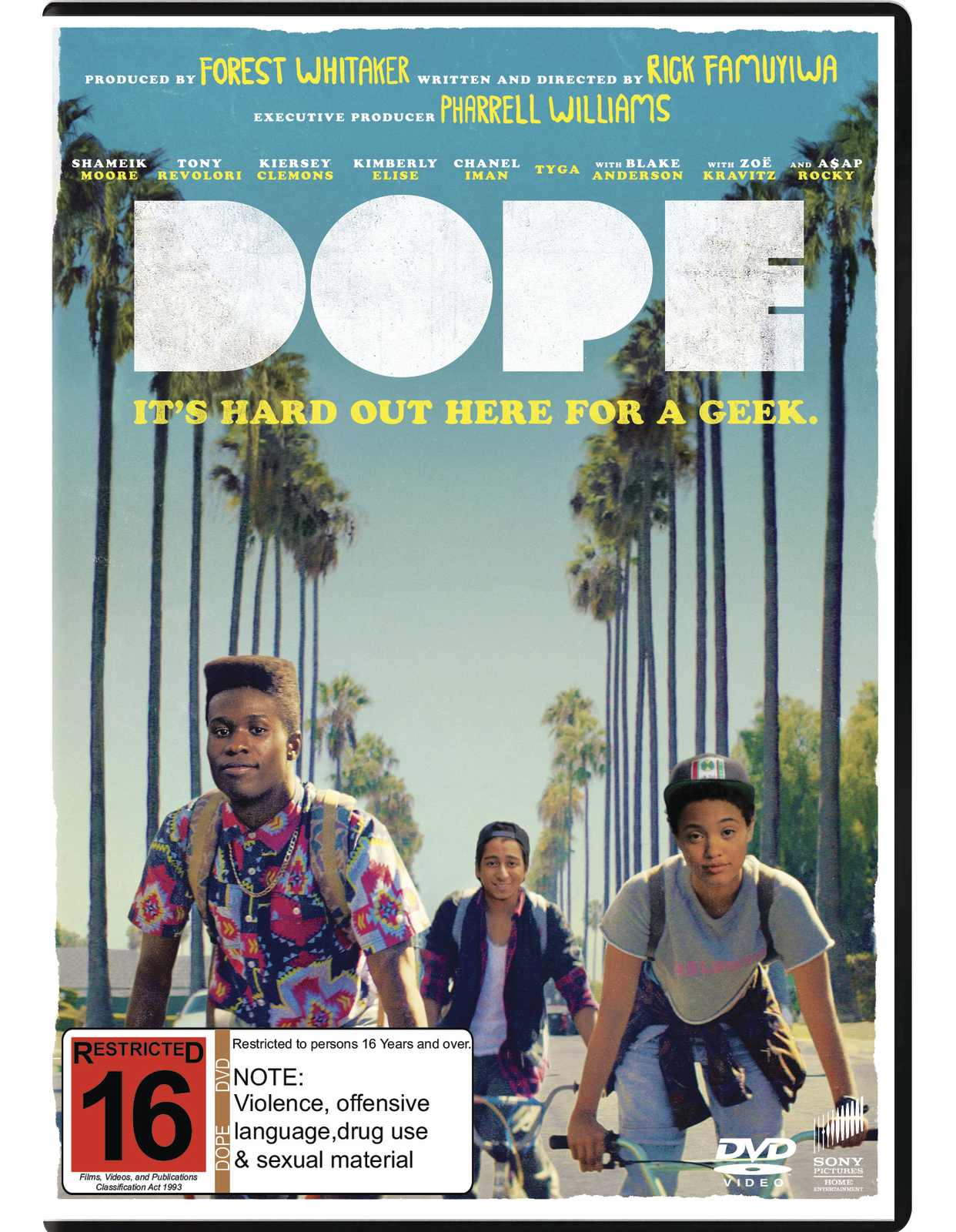 Dope on DVD image