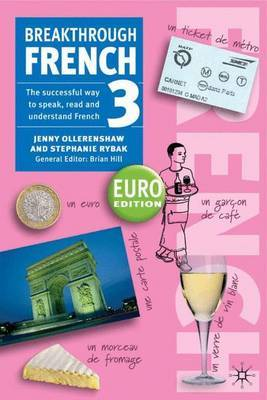 Breakthrough French 3 Euro edition by Jenny Ollerenshaw image