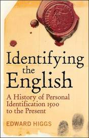 Identifying the English by Edward Higgs