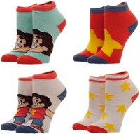 Steven Universe: Youth Ankle Sock - 4-Pack