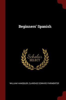 Beginners' Spanish by William Hanssler image
