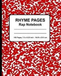 Rhyme Pages Rap Notebook by P2g Publishing
