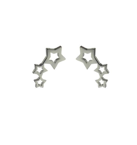 Wos: Rise Studs - Silver