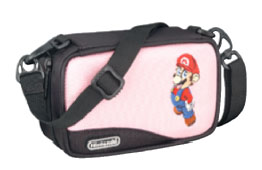 Mario Carry Case for Nintendo DS & GBA (Pink) for Nintendo DS image