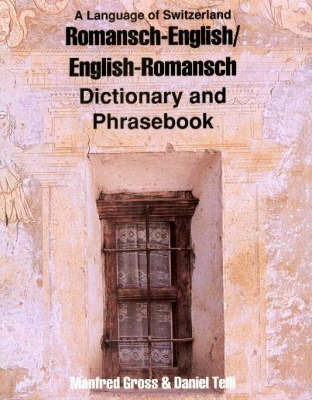 Romansh-English / English-Romansh Dictionary & Phrasebook by Manfred Gross
