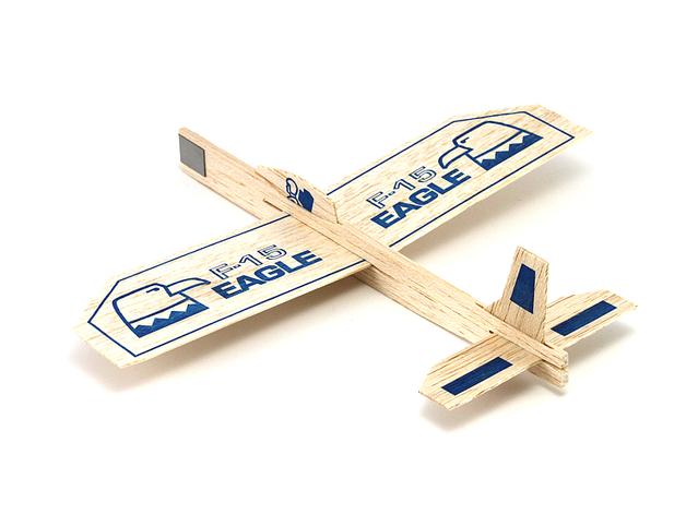 "Eagle Balsa Glider 9"""