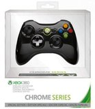 Xbox 360 Black Special Edition Chrome Wireless Controller for Xbox 360