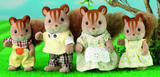 Sylvanian Families: Walnut Squirrel Family