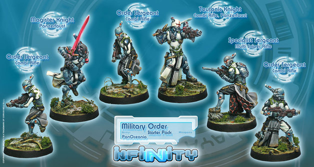 Infinity Military Order: PanOceania Sectorial - Starter Pack