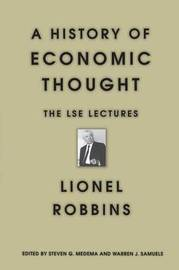 A History of Economic Thought by Lionel Robbins