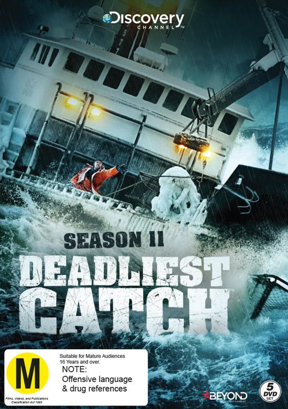 Deadliest Catch: Season 11 on DVD