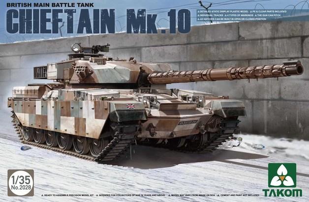 Takom 1/35 British MBT Chieftain Mk.10 Model Kit