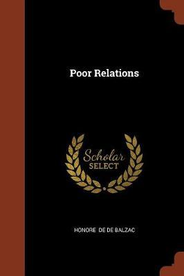 Poor Relations by Honore de de Balzac