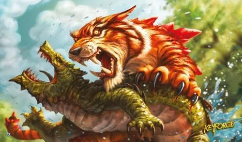 KeyForge: Call of the Archons! - Mighty Tiger Playmat