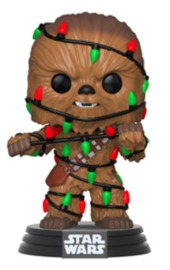 Star Wars: Holidays - Chewbacca (with Lights) Pop! Vinyl Figure