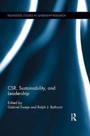 CSR, Sustainability, and Leadership