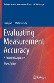 Evaluating Measurement Accuracy by Semyon G. Rabinovich