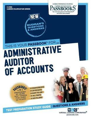 Administrative Auditor of Accounts by National Learning Corporation image