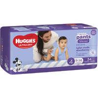 Huggies: Ultra Dry Nappy Boy Pants - Size 4 (34 Pack)